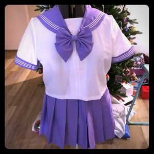 Plus Size Kawaii Sailor Cosplay Schoolgirl Seifuku